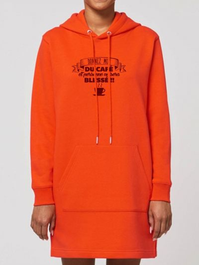 "Robe sweat ""Café"""