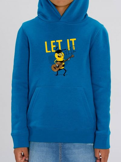 "Sweat enfant ""Let it bzzz"""