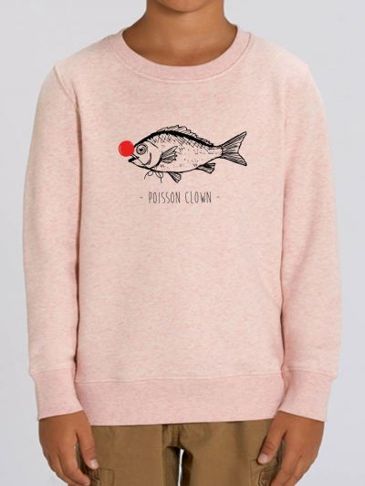 "Sweat-shirt enfant ""Poisson clown"""