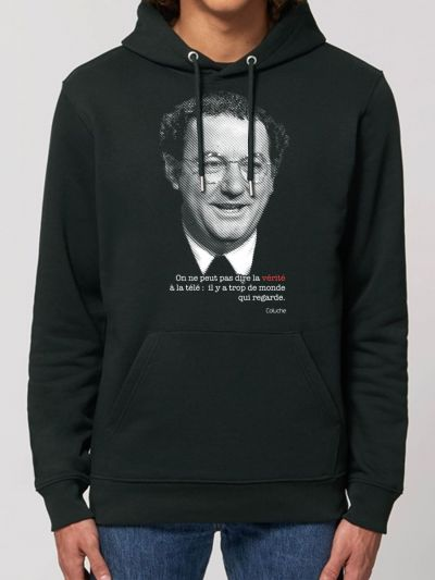 "SWEAT HOMME "" Coluche"""