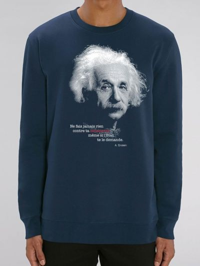 "SWEAT HOMME ""EINSTEIN"""