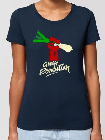 "T-shirt femme ""Green revolution"""