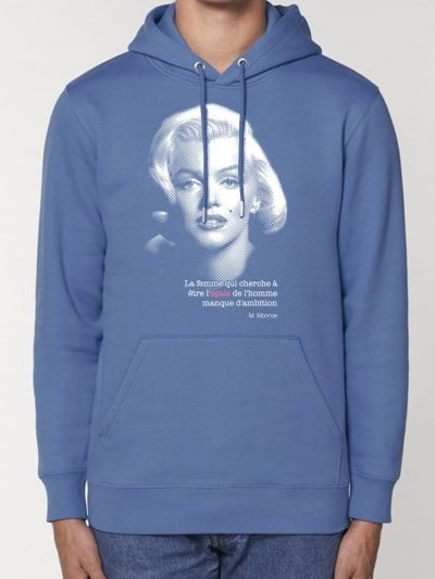"SWEAT CAPUCHE HOMME "" MARYLIN"""