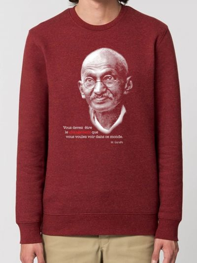 "SWEAT HOMME ""GANDHI"""