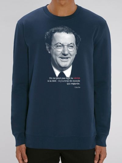 "SWEAT HOMME ""Coluche"""