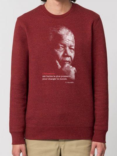 "SWEAT HOMME ""Mandela"""