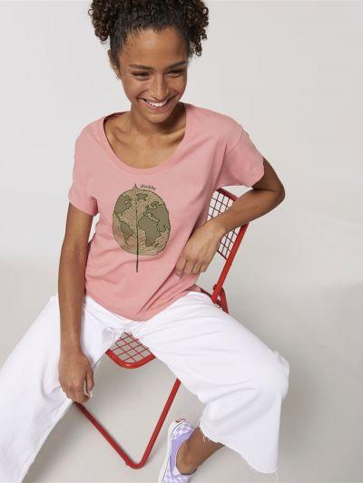 Tee shirt loose plan(e)te