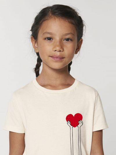"""Tee shirt enfant """"Mains Coeur"""""""