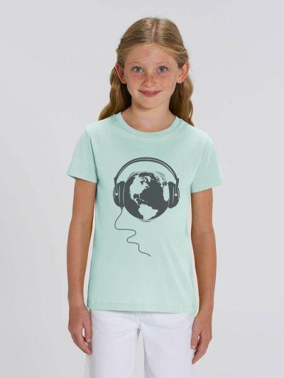 """Tee shirt enfant """"Ecoute la Terre"""""""