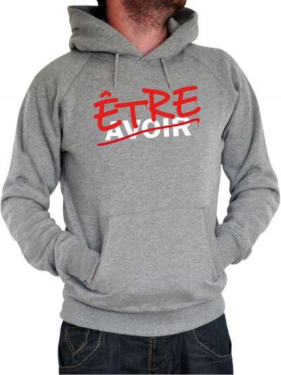 """Sweat homme """"Etre Avoir"""""""