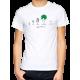 "T-shirt homme ""arbre evolution"""