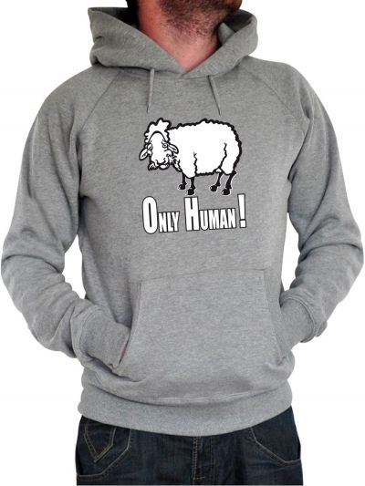 """Sweat homme """"Only human"""""""