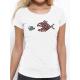"""T-shirt femme """"Poissons unis"""""""