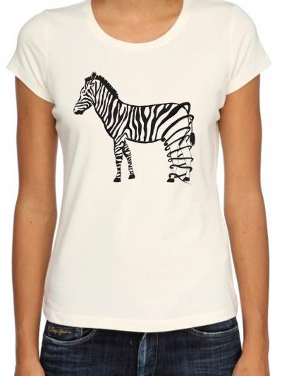 """T-shirt femme """"Zebre"""""""