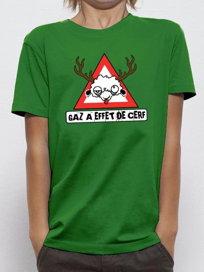 """T-shirt enfant """"Gaz a effet de serre"""""""