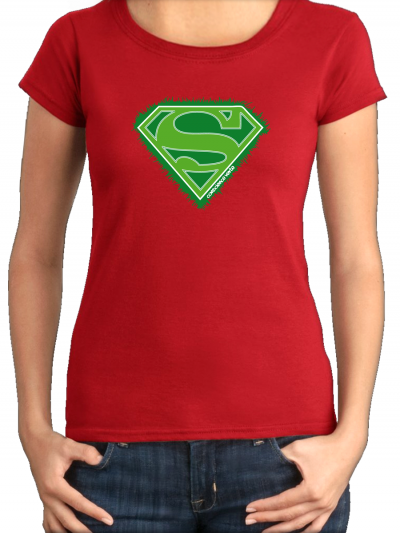 "T-shirt femme ""Super eco"""