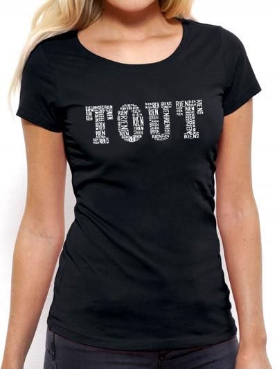 "T-shirt femme ""Tout blanc"""