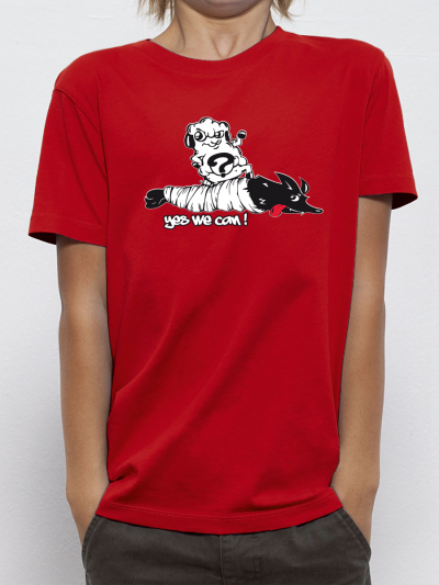 """T-shirt enfant """"Yes we can"""""""
