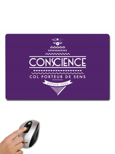 """Tapis de souris """"Conscience"""""""