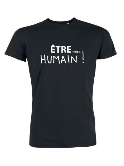 "T-shirt homme ""HUMAIN !"""