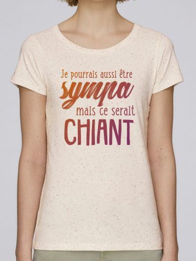 new products best selling cheap for sale T shirt femme aimer : tee shirt original en coton bio