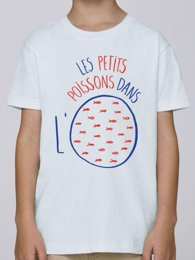 "T-shirt enfant ""Les petits poissons dans l'o"""