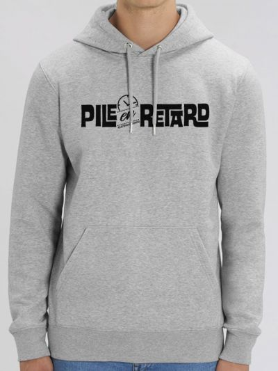 "Sweat homme ""Pile en Retard"""