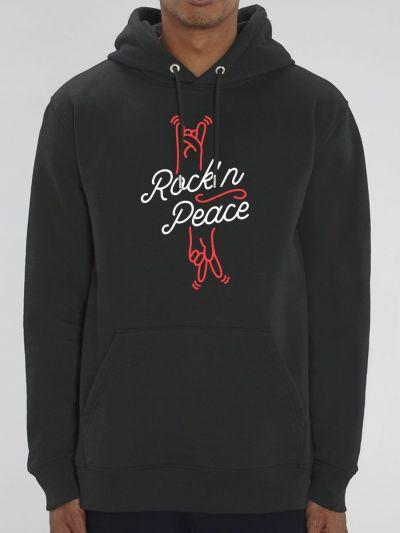 """Sweat homme """"Rock'n Peace"""""""