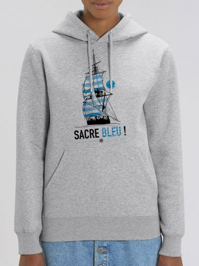 "Sweat femme ""Sacre bleu"""