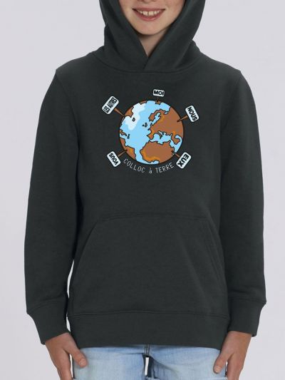 "Sweat enfant ""Colloc a terre"""