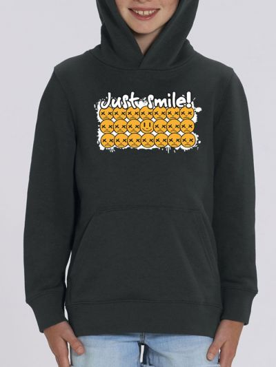 "Sweat enfant ""Just smile"""