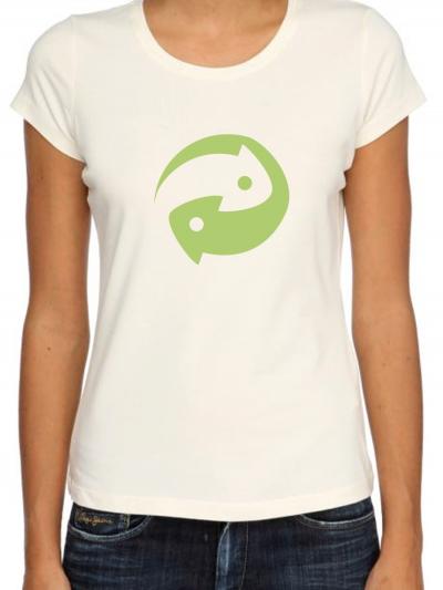 """T-shirt femme """"écolo"""""""