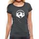 """T-shirt femme """"écoute la terre foncée """""""
