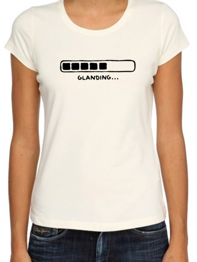 """T-shirt femme """"Glanding noir"""""""