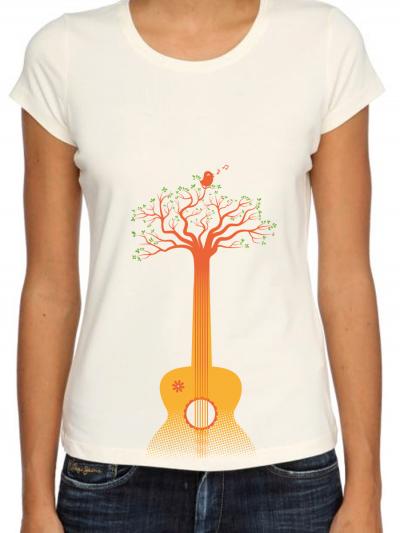 """T-shirt femme """"Guitarbre"""""""