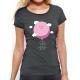 """T-shirt femme """"La tête dans les nuages"""""""
