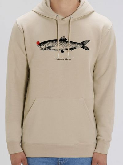 "Sweat homme ""Poisson Clown"""