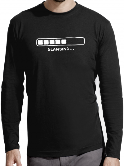 "T-shirt manches longues homme ""Glanding"""