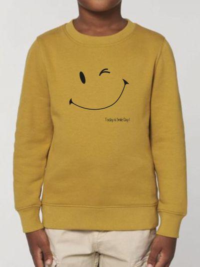 "Sweat-shirt enfant ""Smile day"""