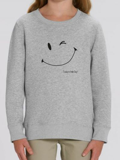 "Sweat-shirt enfant ""Smile day"""