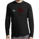 """T-shirt manches longues homme """"Poissons"""""""
