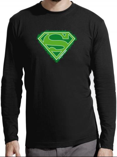 """T-shirt manches longues homme """"super éco"""""""