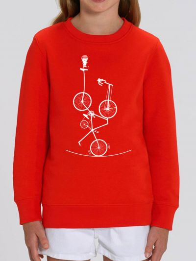 "Sweat-shirt enfant ""Sur le fil"""